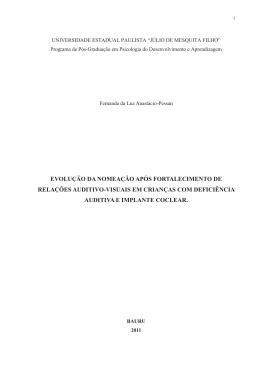 Fernanda Luz Anastacio Pessan - Universidade Federal de São