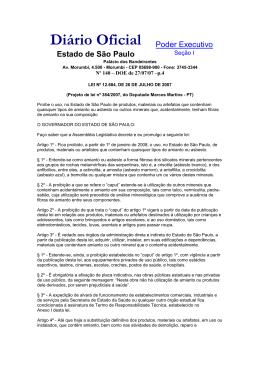 São Paulo - ABREA - Associação Brasileira dos Expostos ao Amianto