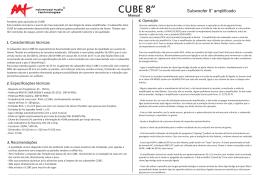 Folheto manual CUBE-v2