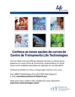 Centro de Treinamento Life Technologies Brazil