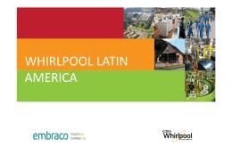 WHIRLPOOL LATIN AMERICA