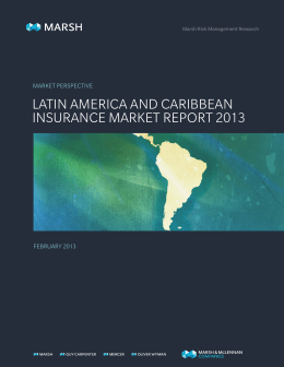 latin america and caribbean insurance market report 2013