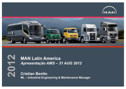 MAN Latin America - Automotive Manufacturing Solutions