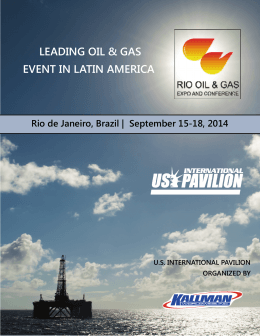 LEADING OIL & GAS EVENT IN LATIN AMERICA
