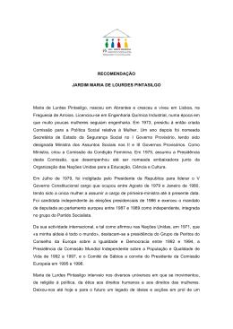 Jardim Maria de Lourdes Pintasilgo 27 Outubro, 2014 - AML
