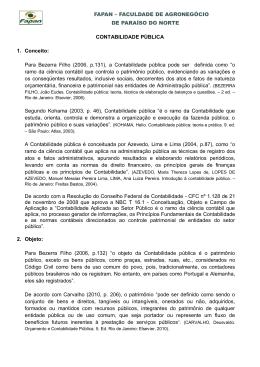 Para Bezerra Filho (2006, p.13