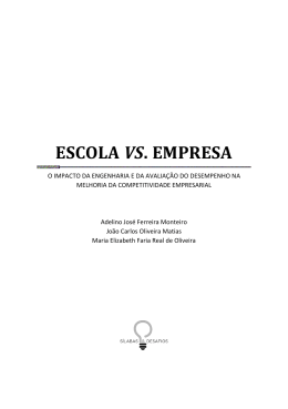 ESCOLA VS. EMPRESA