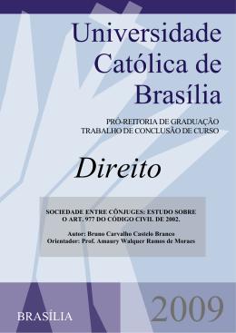 Bruno Carvalho Castelo - Universidade Católica de Brasília