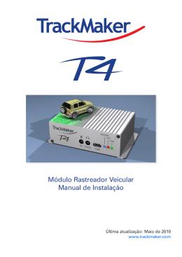 Manual de Instalação do Rastreador T4