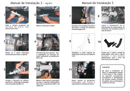 Manual de Instalação 3 - Agrale Manual de Instalação 3