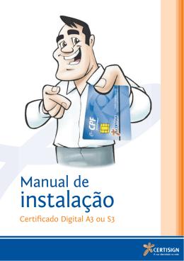 Manual de instalação A3 - MINC