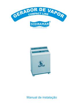 Manual de Instalação Sauna Vapor Sodramar
