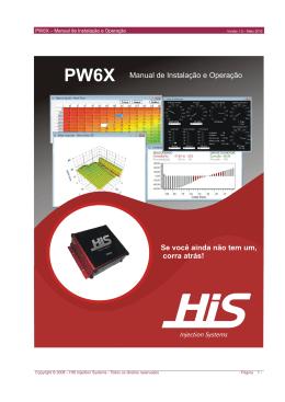 PW6X – Manual de Instalação e Operação - HIS