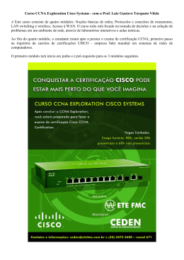 Curso CCNA Exploration Cisco Systems