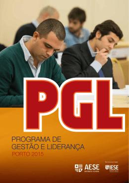 PROGRAMA DE GESTÃO E LIDERANÇA
