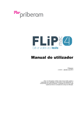 FLiP:mac 4 - Manual do utilizador
