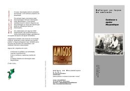Conhecer e apoiar Moçambique nouveau lien verse Sud