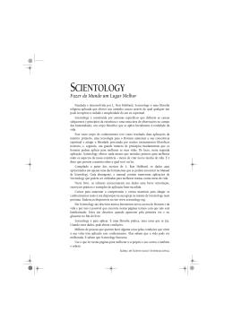 Investigações - Ministros Voluntários de Scientology