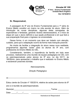 C_155 - Reunião de pais de 9º ano - Unidade Maria Angélica [Secr