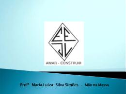 Profª Maria Luiza Silva Simões – Mão na Massa