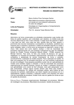 Resumo Marco Antônio Pires Camargos