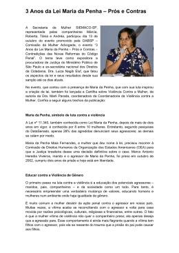 3 ANOS DA LEI MARIA DA PENHA _3_