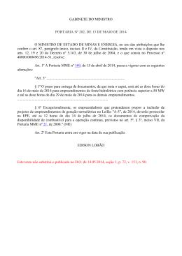 portaria mme n° 202/2014