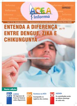 entenda a diferença entre dengue, zika e chikungunya