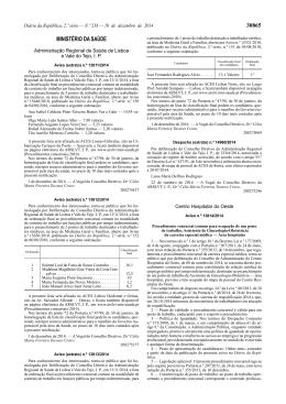 30865 MINISTÉRIO DA SAÚDE