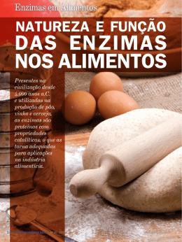 artigo especial: natureza e função das enzimas nos alimentos