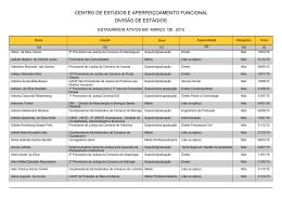 Março - Ministério Público do Paraná