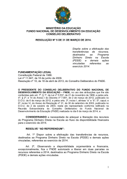 resolução nº 5 de 31 de março de 2014