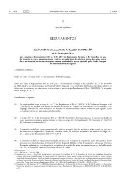 Regulamento Delegado (UE) N.º 522/2014 da Comissão