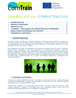 FORMACAO em COMPETENCIAS - Fundacja OIC
