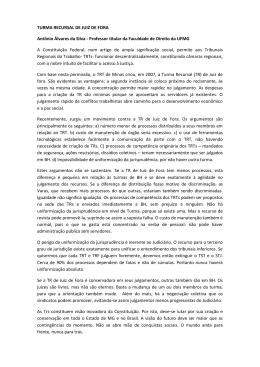 TURMA RECURSAL DE JUIZ DE FORA Antônio Álvares