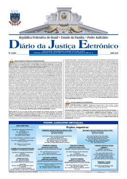30/07/15 - Tribunal de Justiça da Paraíba
