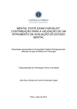 Dissertação de Mestrado João Fugas
