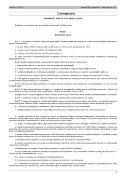 provimento CNJ 44, de 18 de março de 2015