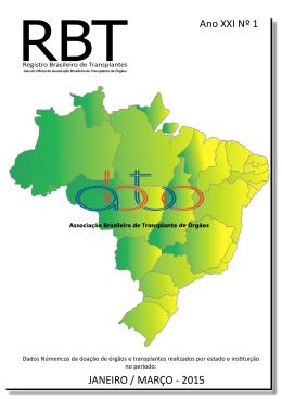 JANEIRO / MARÇO - 2015 Ano XXI Nº 1