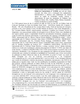ATA 2883 - Documentação