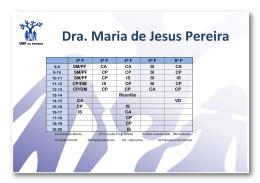 Dra. Maria de Jesus Pereira