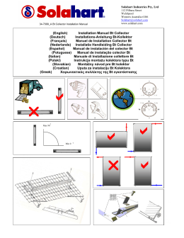 (English) Installation Manual Bt Collector (Deutsch