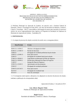 Luiz Alberto Maguito Vilela Prefeito do Município de Aparecida