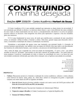 Carta-programa