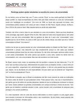 Leia mais - Sinepe/PR