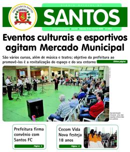 Eventos culturais e esportivos agitam Mercado Municipal