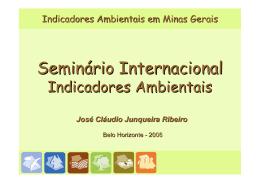 Indicadores Ambientais em Minas Gerais