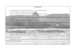 Agradecimentos - Biblioteca Digital de Teses e Dissertações da UFMG