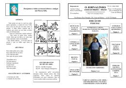 Jornalinho nº14 - Abril 2009 - areópago* de casas da ribeira