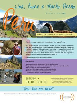 PeruLima, Cusco e Machu Picchu